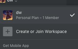 notion workspace